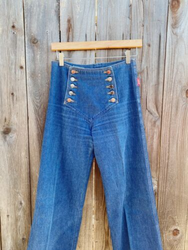 Vintage 1970s Chemin de Fer sailor Jeans