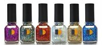 Lechat Nail Lacquers- Carnaval Collection - All 6 Shades Dw125 - Dw130