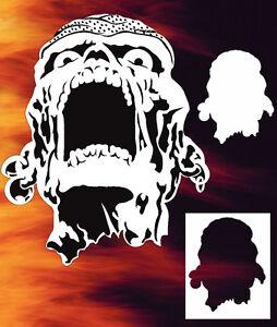 Skull 2 Airbrush Stencil Spray Vision Template air brush