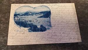 Zürich Schweiz UnermüDlich Davos Gesamtansicht Ak Postkarte 7409 StäRkung Von Sehnen Und Knochen