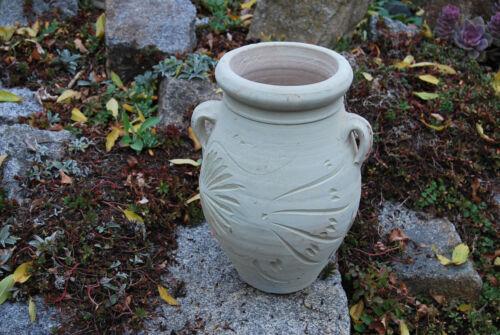 Antike Krug Blumentopf  Vase  aus Terrakotta Terracotta Römische Amphore 40 Cm