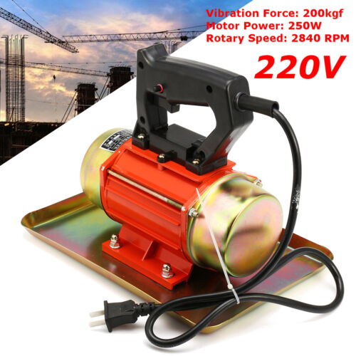 250W Electric Cement Vibrating Troweling Concrete Power Trowel Vibrator Machine