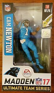 new arrival 61b04 2bc27 Details about McFarlane NFL EA Sports Madden 17 Series 3 Cam Newton Color  Rush variant chase