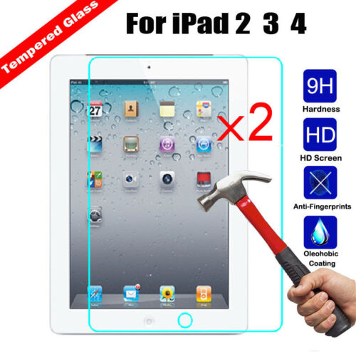 iPad Air 3rd Gen 2Pcs Tempered Glass Film Screen Protector For iPad mini 5 7.9