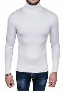 uk availability 13117 2c037 Bianco Casual Fit Su Slim Maglione Pullover Aderente Diamond ...