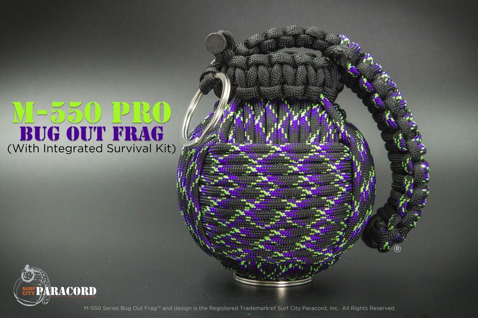 Pro Bug Out Frag  Paracord Survival Kit (Undead)