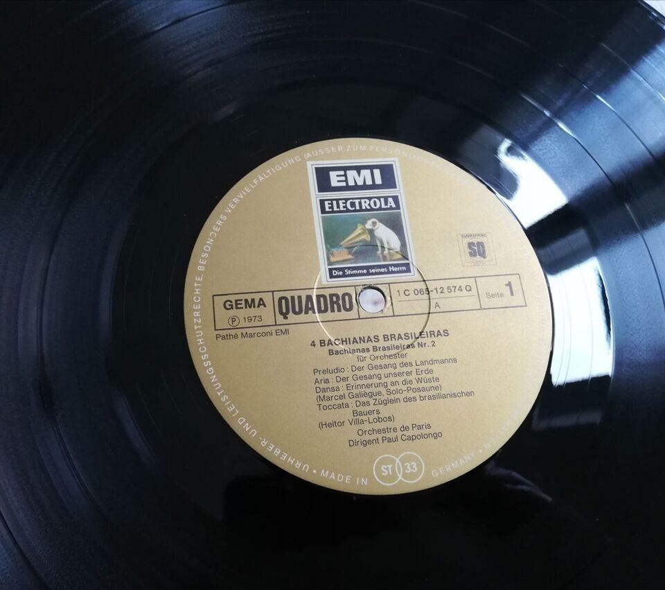 LP, Hector Villa-Lobos, 4 Bachianas Basileiras