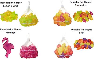 Apprensivo Riutilizzabile Ice Cubi Forme Ideale Per Pic-nic, Feste In Varie Forme E Colori-mostra Il Titolo Originale Fabbricazione Abile