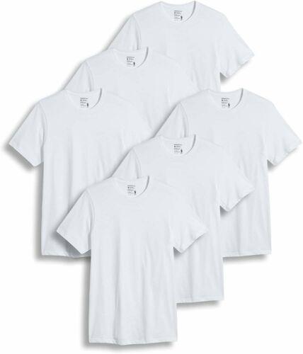 6 Pack Jockey Men/'s T-Shirts Big /& Tall Classic Crew Neck T-Shirt