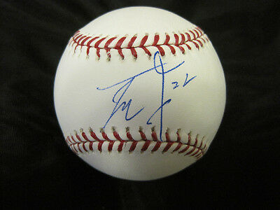 Qualified Yoshinori Tateyama Texas Rangers Signed Official Major League Ball W/coa Sports Mem, Cards & Fan Shop Autographs-original