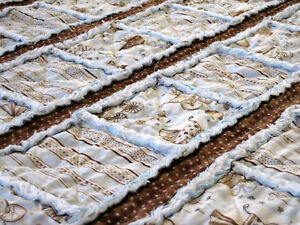 LETS STRIP RAG Quilt Pattern Instructions Baby Toddler | eBay : rag quilt patterns instructions - Adamdwight.com