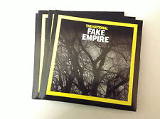 THE NATIONAL - FAKE EMPIRE 3 TRK PROMO NEW CD FAST POST