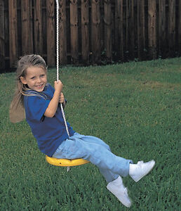 Outdoor Spring Tree Swing Disc Playground Swingset Special Needs
