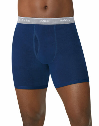 Hanes Men Boxer Brief 5-Pack Comfort Flex Waistband ComfortSoft TagFree Assorted