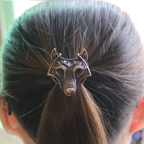 4-Color Vikings Wolf Elastic Hair Band Fashion Trendy Women Hairwear Hairbands