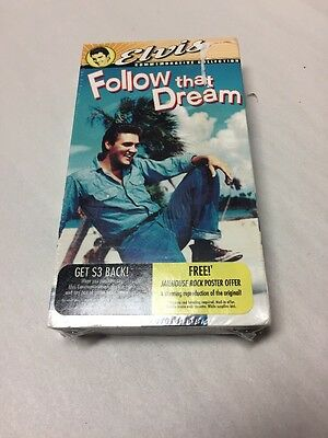 Elvis Presley VHS Movie Follow That Dream SEALED | eBay