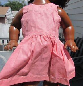 Robe Soleil Poupée Rose Brodée Pour Terri Lee Saucy Walker 16   Doll Sun Dress Pink Embroidered For Terri Lee Saucy Walker 16