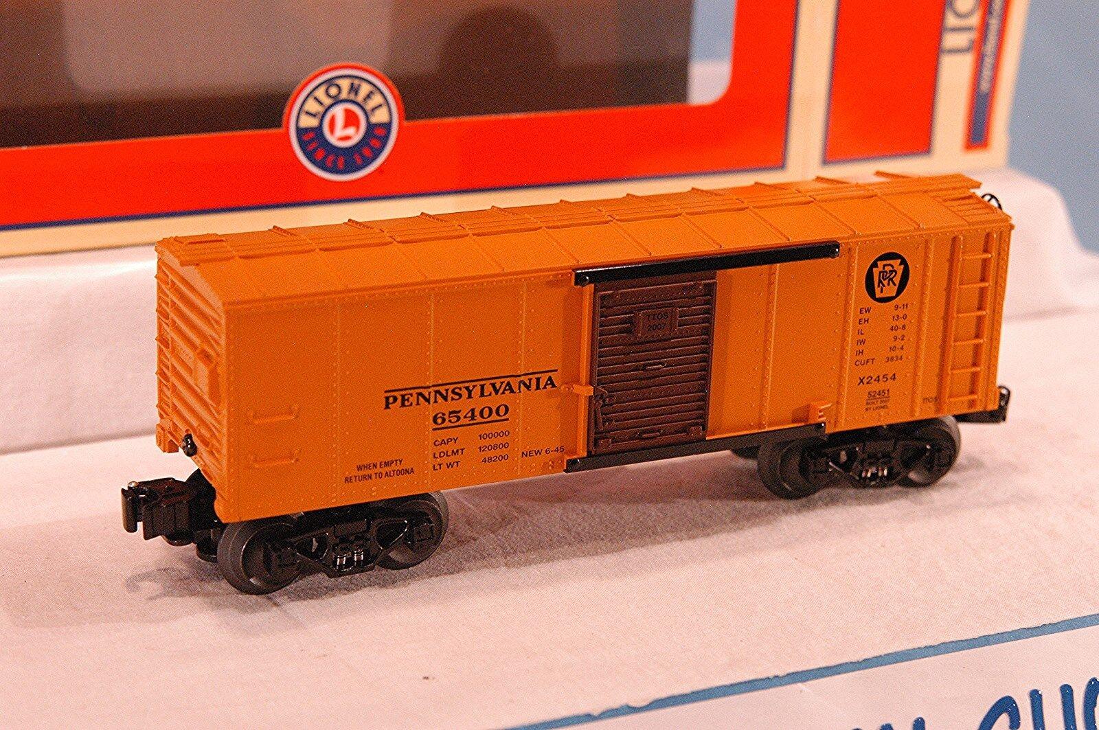 Lionel 6-52451 Pennsylvania X2454 TTOS 2007 Furgón. nuevo En Caja