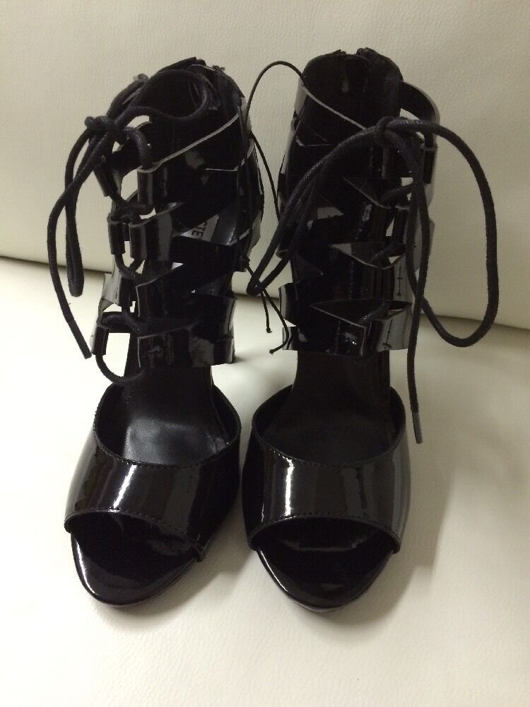 Nuevo Steve Madden micahh Negro Zapatos de tacón alto Zapatos Zapatos Zapatos De Mujer Talla 7  más vendido