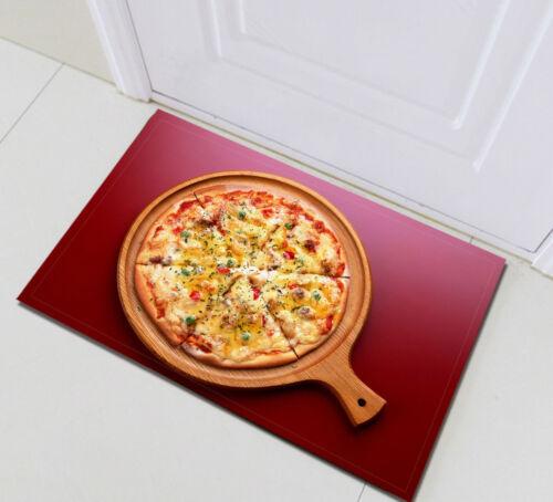 Delicious Pizza Motif Cuisine Salle de Bain Porte Tapis Sol Tapis De Mousse à Mémoire NEUF