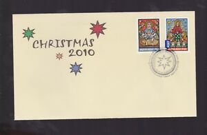 Australia-2010-Christmas-FDC-inc-International-Stamp-J-489