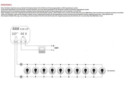 LED WANDEINBAUSTRAHLER BELEUCHTUNG DIMMBAR KASKADE LAMPE F/&F INGA LS-IWW