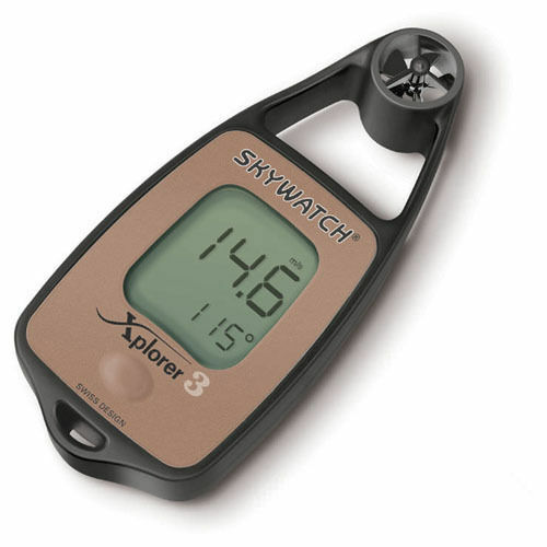 Brand New Xplorer Skywatch 3 Wind Meter Anemometer Compass Hand Held