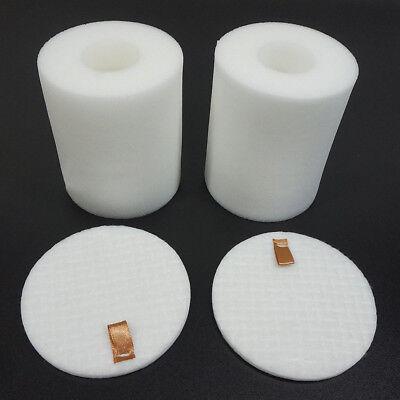 1//8 Set Foam+Felt Filter for Shark NV500 Rotator Professional Vacuum Part XFF500