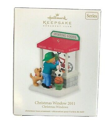 2011 Hallmark Keepsake Ornament Christmas Window Sporting ...