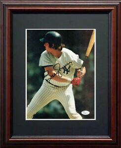 Details about Bobby Murcer JSA Signed 8x10 Framed Magazine Page Photo  Yankees Auto Died 2008