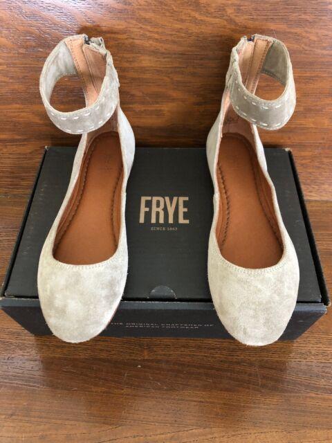 Frye Womens Carson Ankle Ballet Flat