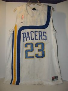 Nike NBA Jersey Ron Artest  23 Sewn Indiana Pacers SZ XL - Length +2 ... 8f5da16bb