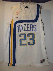 760f81fbd51 Nike NBA Jersey Ron Artest  23 Sewn Indiana Pacers SZ XL - Length +2 ...