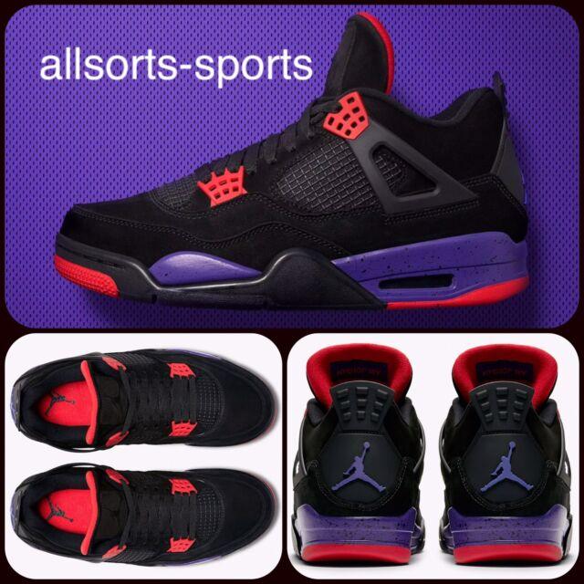 """sports shoes 3114d 48f05 NIKE AIR JORDAN 4 RETRO NRG """"RAPTORS""""   UK 11 EU 46   UK 12 EU 47.5    AQ3816 065"""