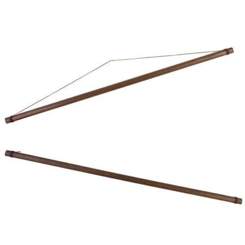 Large Japanese Tapestry Hanging Poles