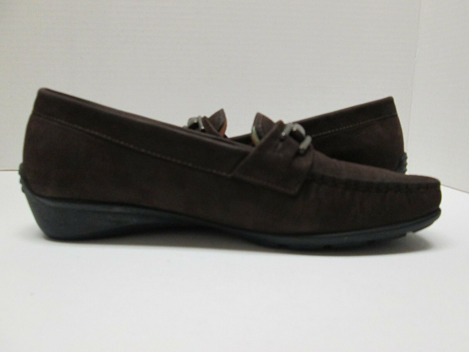 MEPHISTO Cool-Air Women's Brown Suede Slip-On shoes Size Size Size 7 1 2 US a7a731