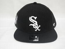 New  47 brand Chicago white sox vintage MLB black snapback Cap hat