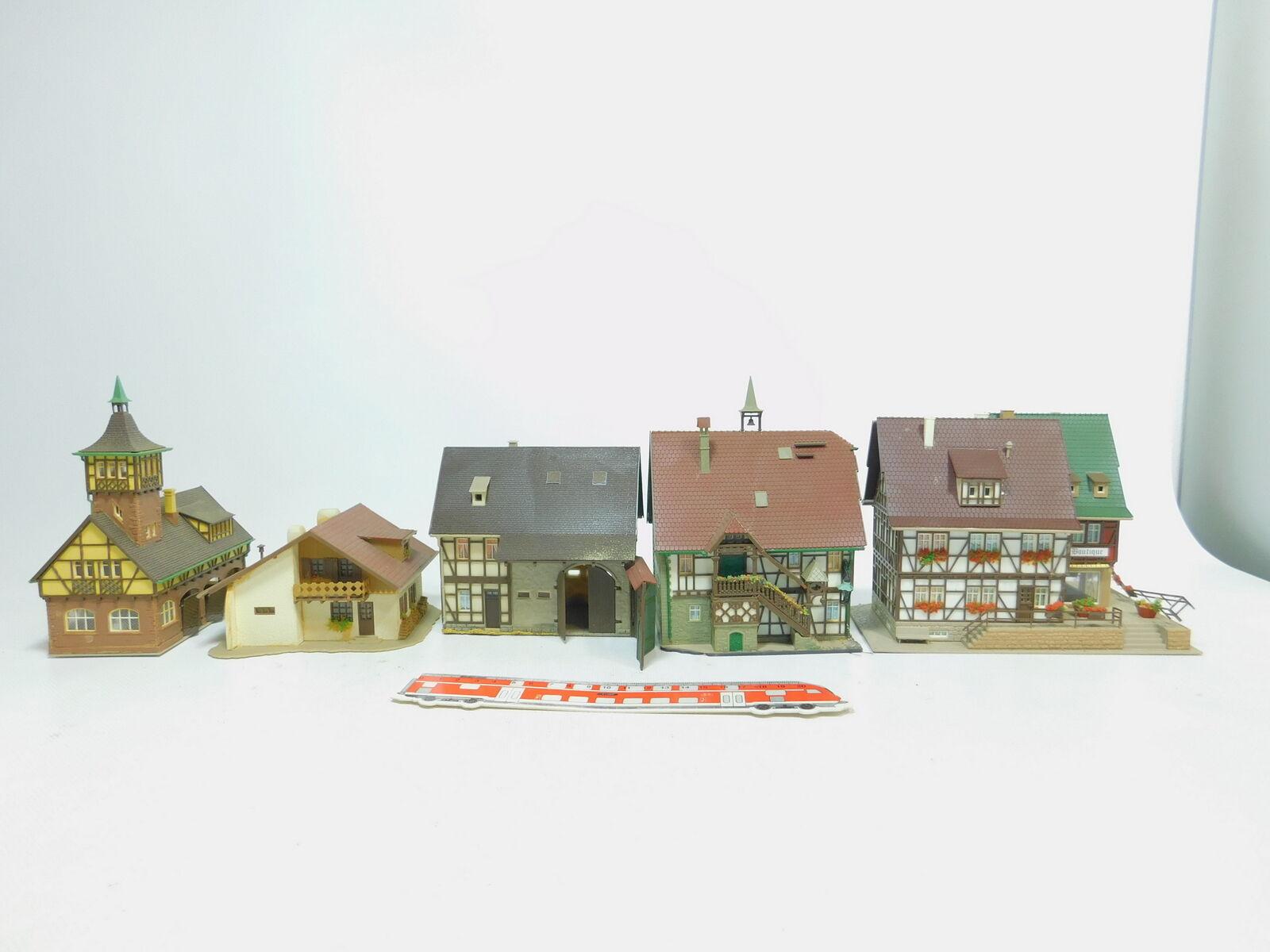 Bm412-3  5x VOLLMER h0 reticolare casa etc: 20512 + 29473 + 20391 + 21398 +3701