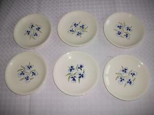"6 assiettes plates "" EDITH "" "" SALINS FRANCE - France - 273170276052 6 Assiettes plates "" EDITH "" Diamtre 24 cm Estampillées SALINS Trs bon état - France"