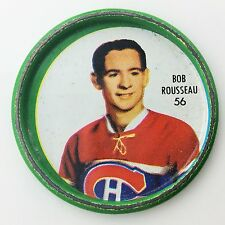 Shirriff Bob Rousseau #56 Montreal Canadiens NHL Hockey Metal Coin A510