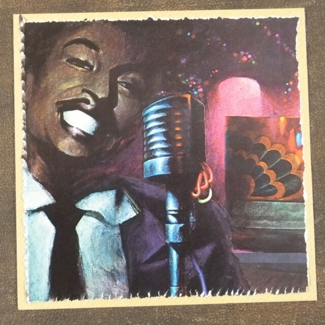 POP-KARD feat. LITTLE RICHARD cutting 15x15cm greeting card fathers day ? aao
