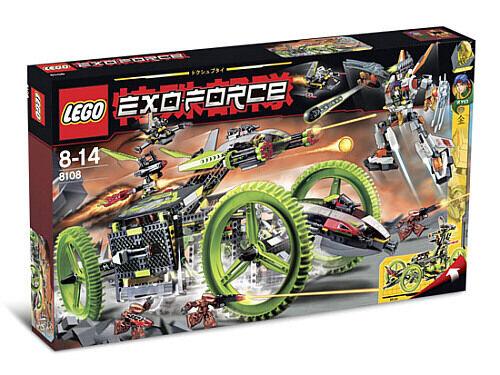 Lego Exo-Force 8108 Mobile Devastator New Sealed HTF