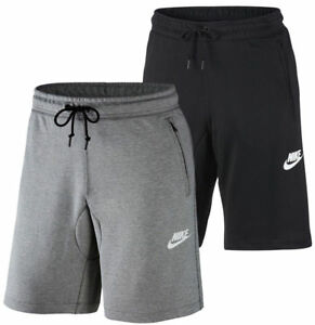 wholesale good out x half price Détails sur Homme Neuf Nike Fleece Short, Jogging Short Long Sport Gym  Shorts De Course Noir- afficher le titre d'origine