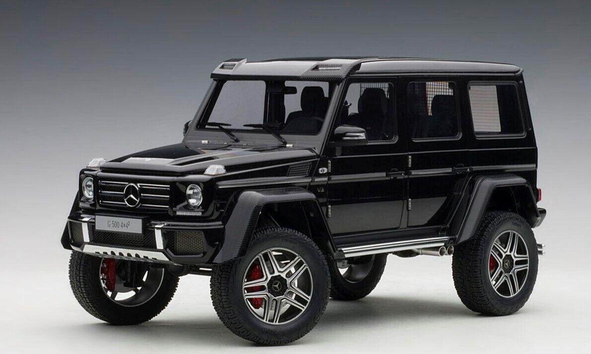 76317 Autoart 1 18 Mercedes  Benz G500 4X4 Noir  économiser jusqu'à 70% de réduction