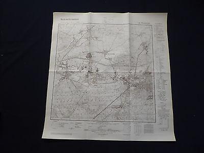 Landkarte Meßtischblatt 3148 Eberswalde, Finow, Finowfurt, Lichterfelde, 1942