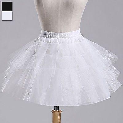 NEW Petticoat Crinoline Skirt Slip Short Tutu children 's Underskirt