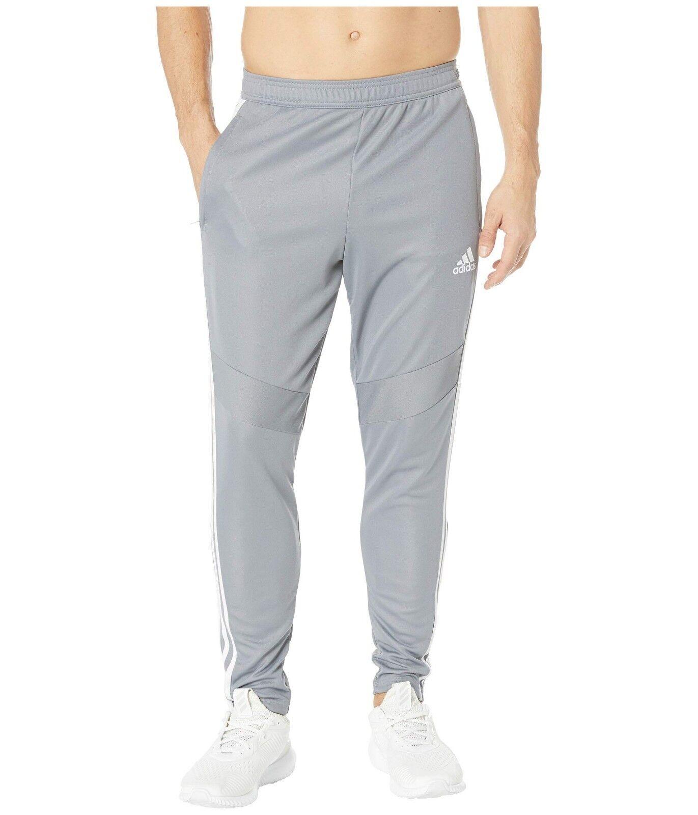 Adidas Grey White Tiro 19 Training Pants