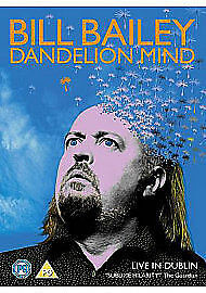 Bill-Bailey-Dandelion-Mind-DVD-2010-new-sealed-freepost