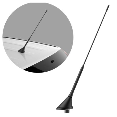 Universal Auto Antenne ANTENNENFUSS FM//AM Radio Verstärker Sockel Dachantenne