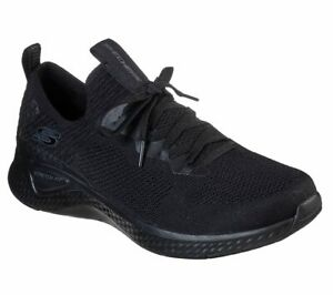 Skechers-Black-Shoes-Men-Memory-Foam-Walk-Sport-Comfort-Casual-Soft-Slipon-52757